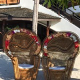 The wedding chairs