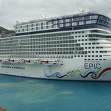 Our Neighbor Ship in St. Thomas NCL Epic