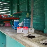 Dominican kitchen
