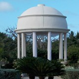 Another view of the wedding gazebo