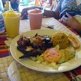 Jerk Chicken in St. Maarten