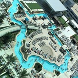 Texas shaped lazy River pool at Marriott Marquise