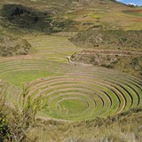 Incan agricultural terraces at Moray