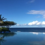 One of the prettiest infinity pools I have seen!