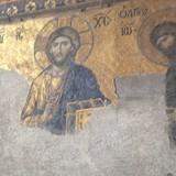 Beautiful Mosaic Icons in Hagia Sofia