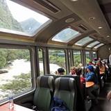 On the train: Ollantaytambo to Aguas Calientes