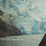 Calfing of ice