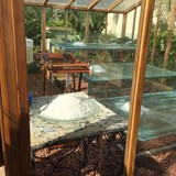 Salt conservatory, self sustaining from the sea