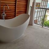 Sandals Montego Bay outdoor soaking tub