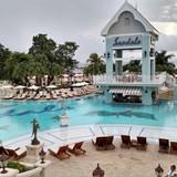 Sandals Ochi Beach- main pool on Manor Side