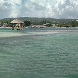 Sandals Royal Caribbean from the island
