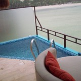 Your own private lounging pool