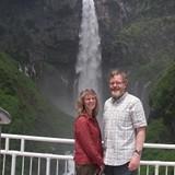 Kegon Falls at Lake Chuzenji in Nikko Natl Park
