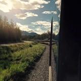 Alaska Railroad Luxury Dome Train