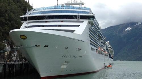 Alaskan Cruise Ships in Skagway