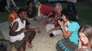 Fijian Lovo  (feast and drinking kava)