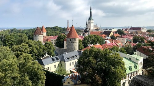Tallinn, Estonia in the Baltic Sea