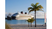 Cruise Ship at Anchor in the Caribbean