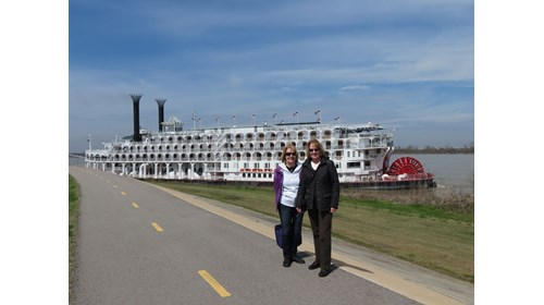The Mississippi and The American Queen
