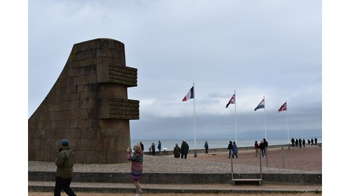 Normandy Beach Monument
