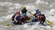 Through the rapids