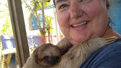 Hangin' with Patricia the Sloth