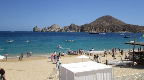 Beautiful beach at the ME Cabo!