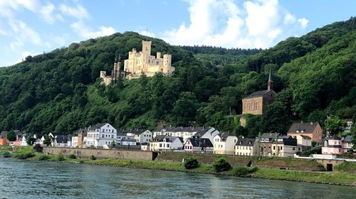 Castles along the Scenic Rhine River Cruise