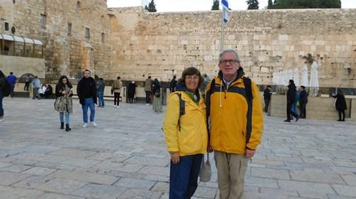 Shirley and Daniel In Jerusalem