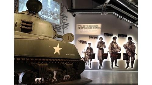 Battle of the Bulge Museum, Bastogne, Belgium