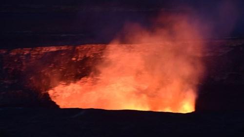 Kilauea Caldera, Hawaii Volcano National Park