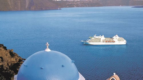 The Regent Seven Seas Explorer in Greece