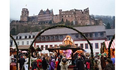 Heidelberg/Speyer market - the shadows of castles