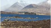 The Scottish Highlands at Glencoe