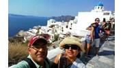 Oia, Greece on the Aegean Sea