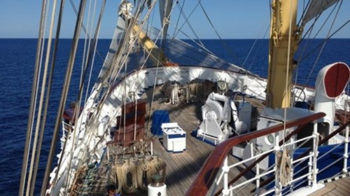 At Sea with Star Clippers