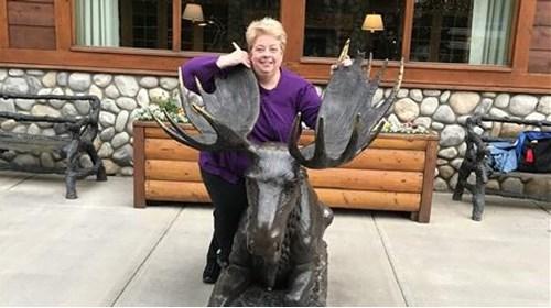 At Mendenhall Glacier
