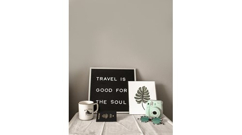 Travel is good for the soul!