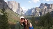 Yosemite National Park with my husband Brandon