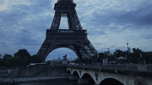 The Effel Tower Paris