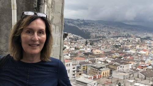 Overlooking Old Town Quito, Ecuador