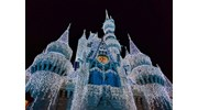 Cinderella Castle during the Holidays