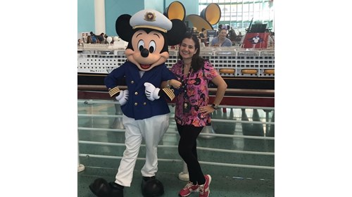 Disney Cruise with my favourite Captain!