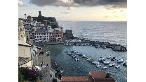 Vernazza, Italy, one of the Cinque Terre