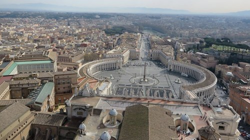 Rome for the top of St. Peter's Basilica