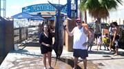 Blue marlin caught down in Cabo San Lucas.