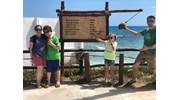 Family cruise travel in Costa Maya, Mexico