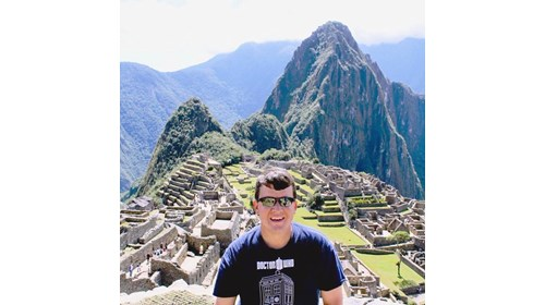 Machu Picchu in the Andes Mountains of Peru!