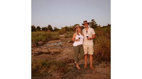On foot in Botswana in the Selinda Reserve at Zara