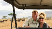 On safari in East Africa